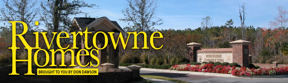 RiverTowne, Mount Pleasant SC Homes header image